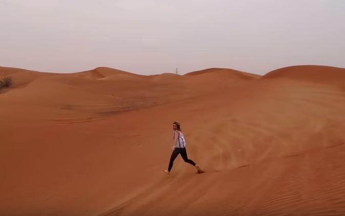 run in desert