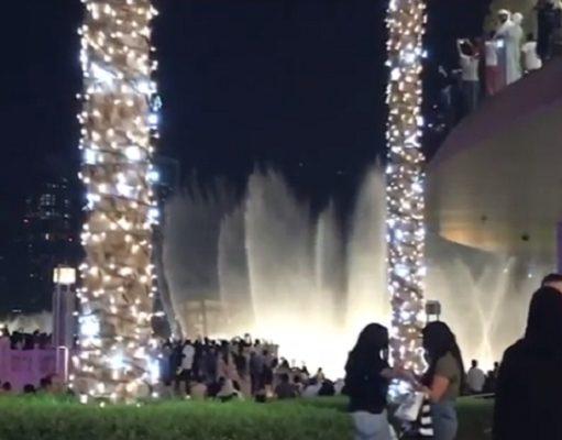 Dubai Burj Khalifa Fountain