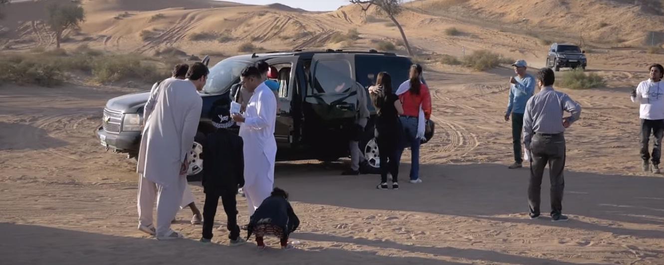 Desert Arrival