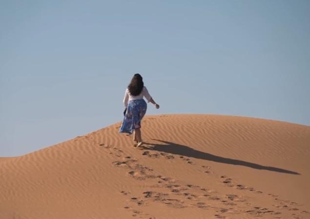 Dubai desert walk