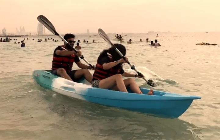 kayak dubai tour