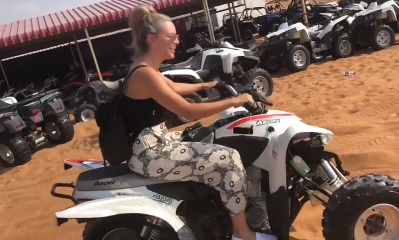 Desert Safari Quad Bike Rides