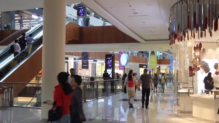 dubai mall visitors